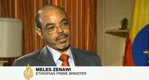 Meles zenawi interview
