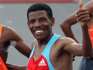 haile gebrselassie wins 'special' Great North Run in September