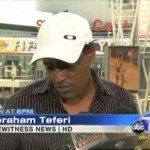 Ethiopian Taxi driver gets $10,000 for his burned taxi on Lakers game riot ( video )