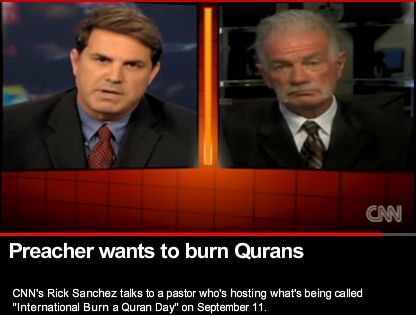 Preacher wants to burn Quarans