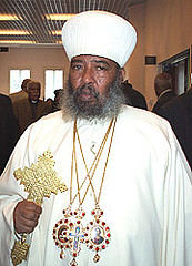 Ethiopian Orthodox church decided to bring down the Patriarch statue