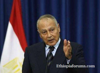 Egypt Foreign Minister Ahmed Aboul Gheit