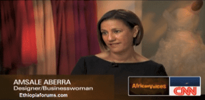 CNN profile Amsale Aberra, Dress designer to the stars set for reality TV show ( VIDEO )