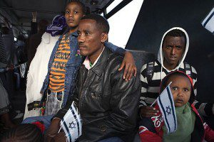 More than 335 immigrants from Ethiopia arrived in Israel