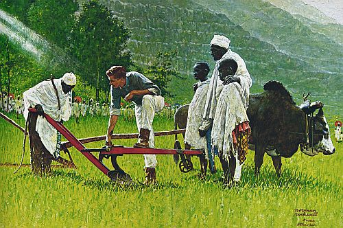 Peace Corps_Ethiopia_norman_rockwell