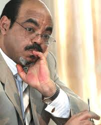 We are not worried that there will be a north Africa-type revolution in Ethiopia : Meles Zenawi