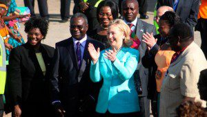 "Hillary Clinton warns against ""new colonialism"" in Africa"