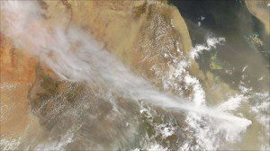 Eritrea volcano ash hits Ethiopia villagers. Ash cloud reaches Israel