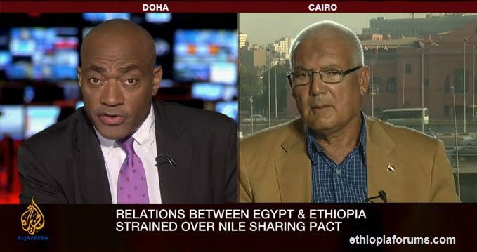 Egypt and ethiopia on Nile dam