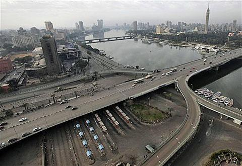 A view of Cairo and the Nile river in Cairo, Egypt (file photo)
