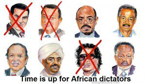 African dictators warned: 'Your time is up'