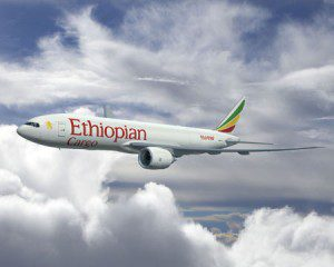 Ethiopian Airlines Announce Orders Four Boeing 777 Freighters