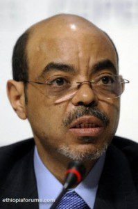 Meles Zenawi Says Global Concerns Over Hydro Plan Won't Hurt Funding
