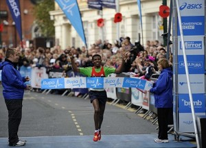 Thanks to his win in Birmingham, England, Haile Gebrselassie is still a force to be reckoned with. Photo: Daily Mail