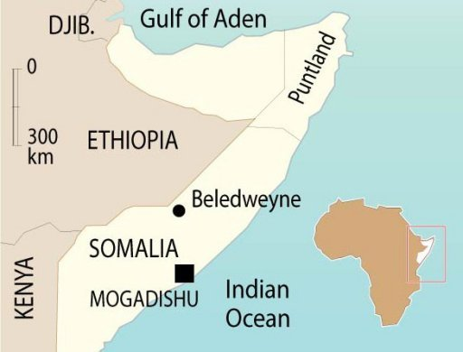 Somalia : Ethiopian Troops Captured City of Beledweyne from Al-Shabab Fighters