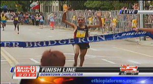 Ethiopian Solomon Deksisa wins Bridge Run
