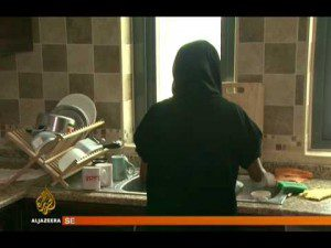 Ethiopian domestic worker in Lebanon attempte suicide or fall?