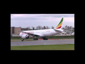 """Ethiopian Airlines Receives the 5th 777-200LR Named """"The Sahara"""""""