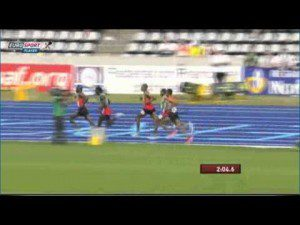 Ethiopian Teshome Dirirsa Won 1500m at IAAF World Youth Championships