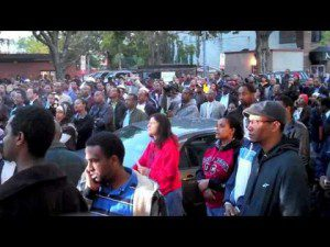 DC metro Ethiopians remembered the murder of Ali  Mohammed. ( VIDEO )