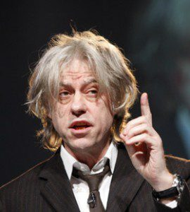 Pop star Bob Geldof Asks Meles Zenawi to be More Tolerant for Ethiopian People