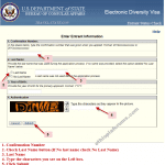 How to check DV Lottery status on DVLottery.state.gov website
