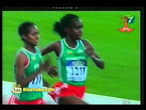 Ethiopian Tejnesh Gabisa wins 3000m at junior champs in barcelona