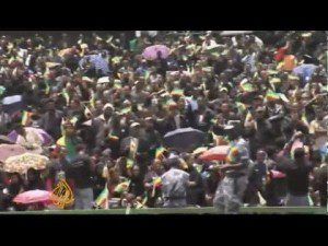Ethiopia's former leader Meles Zenawi funeral