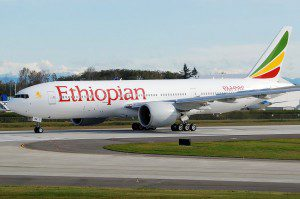 Ethiopian Airlines Receives First Boeing B777 Freighter