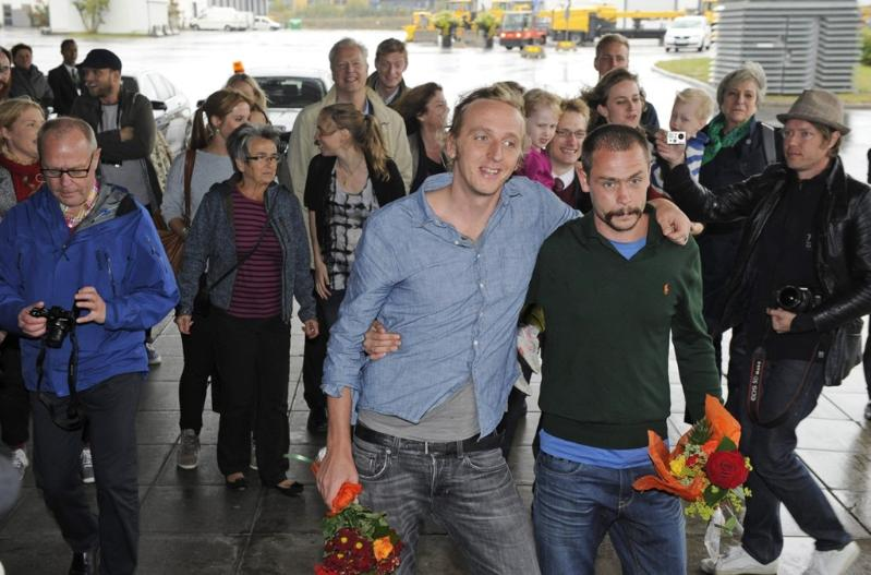Sweden Journalists Released Martin Schibbye and Johan Persson