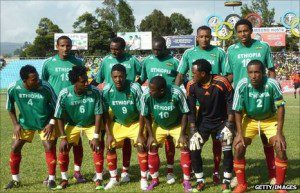 Ethiopia beats Niger 1-0 in a friendly match at Addis Ababa Stadium