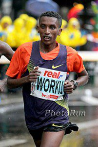 Ethiopians rule Houston Marathon, Worku and Mohammed wins men's and women's races
