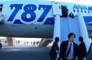 Boeing 787s Grounded by Two Japanese Airlines After Emergency Landing ( VIDEO)
