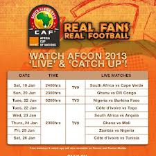 watch African cup online