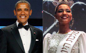 Barack Obama to dine with first black Miss Israel Yitayish Ayanaw