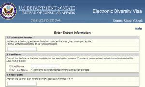 DV-2014 DV Lottery : Green card lottery entrant status check begins May 1, 2013