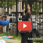 Breaking News – Man Shots fired at Ethiopian embassy Washington DC – VIDEO