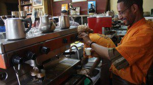 Boom times for Ethiopia's coffee shops – BBC