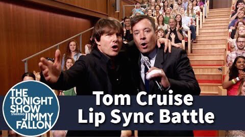 tom cruise sing the weeknd can't feel my face battled jimmy fallon