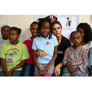 Victoria Beckham Visits Ethiopia for UNAIDS Trip: See Her Touching Photos – People Magazine