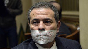Egypt parliament expels MP Okasha after Israel meeting