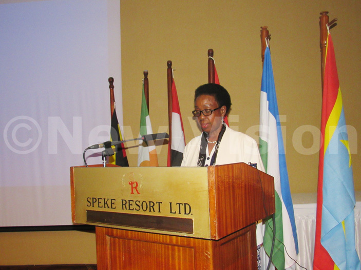 hoda umusiime the  ommissioner for griculture and ural conomy also graced the closing day