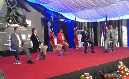A session of the tourism summit at State House,