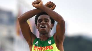 Endurance test for Ethiopia's Olympic protester Feyisa Lilesa – BBC News