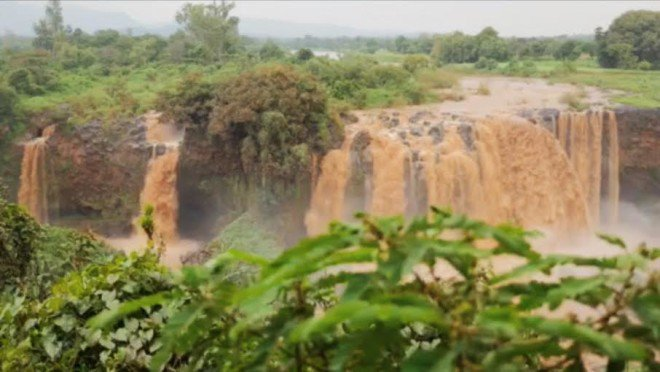 BLUE Nile Falls, a showcase of Ethiopoa's hydroelectric potential. CHESKA CASTRO