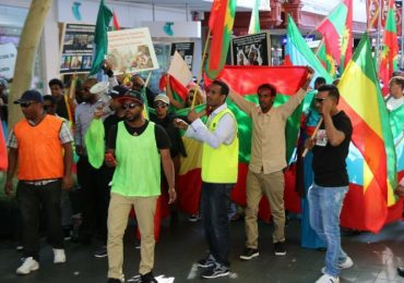 Perth Ethiopians protest against government crackdown