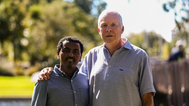 After visiting Ethiopia, Ashhurst resident Ric Foxley founded an organisation to help support Amlaku Teshome, a young ...