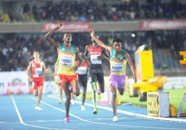 Kenya surrenders 800m Boys gold to Ethiopia