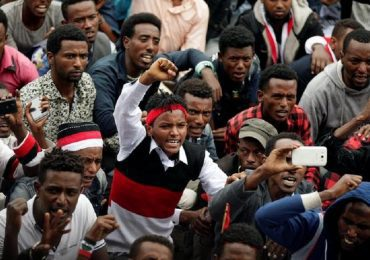 [Photos] Ethiopia's Oromos celebrate, protest, mourn at Irreecha 2017