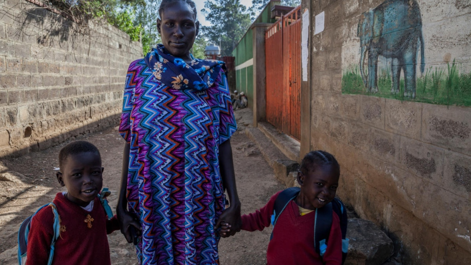 Ariat, a South Sudanese refugee in Ethiopia, could not register her daughter at school because she did not have a birth certificate.